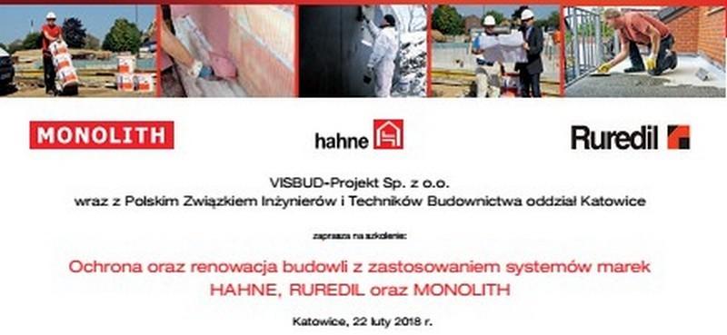 Zapraszamy na szkolenie - Ochrona oraz renowacja budowli